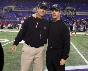 Jim Harbaugh, John Harbaugh